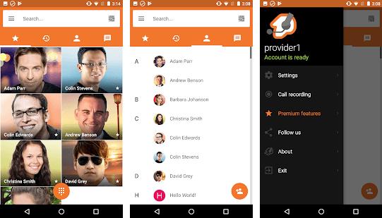 SIP-клиенты для Android